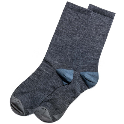 The Merino Sock in Blue