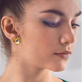 Three Petal Earrings, Jaded Jewels