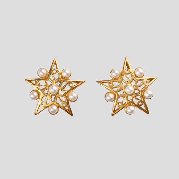 Star Earrings, Jaded Jewels