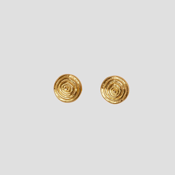 Small swirl Earrings, Jaded Jewels