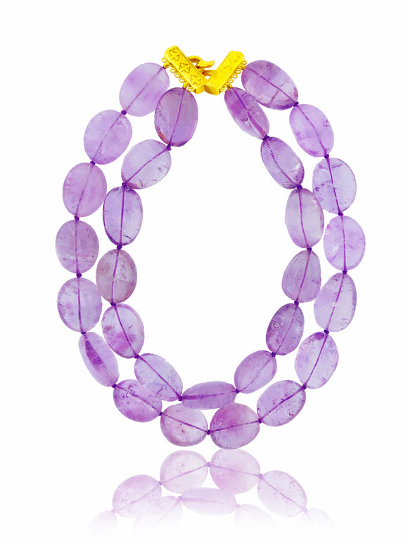 Light Amethyst Necklace