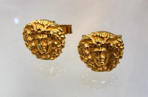 Medusa Cufflinks by Jaded Jewels