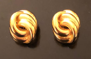 Jaded Jewels, knot earring gde 06 . $175.00