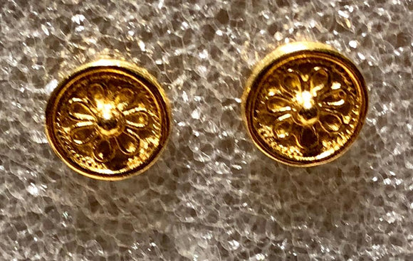 Etruscan earrings, Jaded Jewels