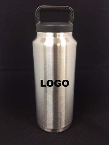 Personalized 36oz Vacuum insulated Cylinder Bottle