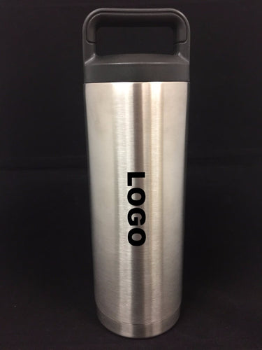 Personalized 18oz Vacuum insulated Cylinder Bottle