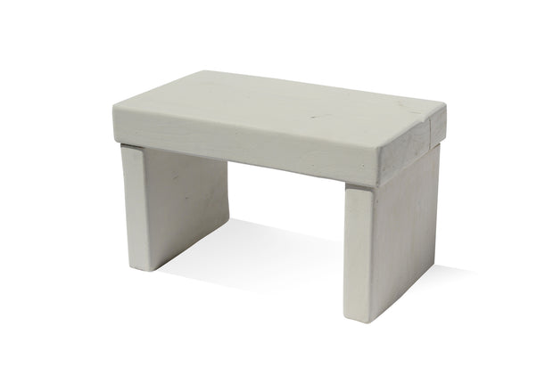 Raw Silk Kids' Step Stool - Solid Paint