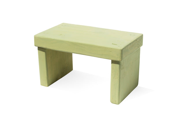 Upper Canada Green Kids' Step Stool - Solid Paint