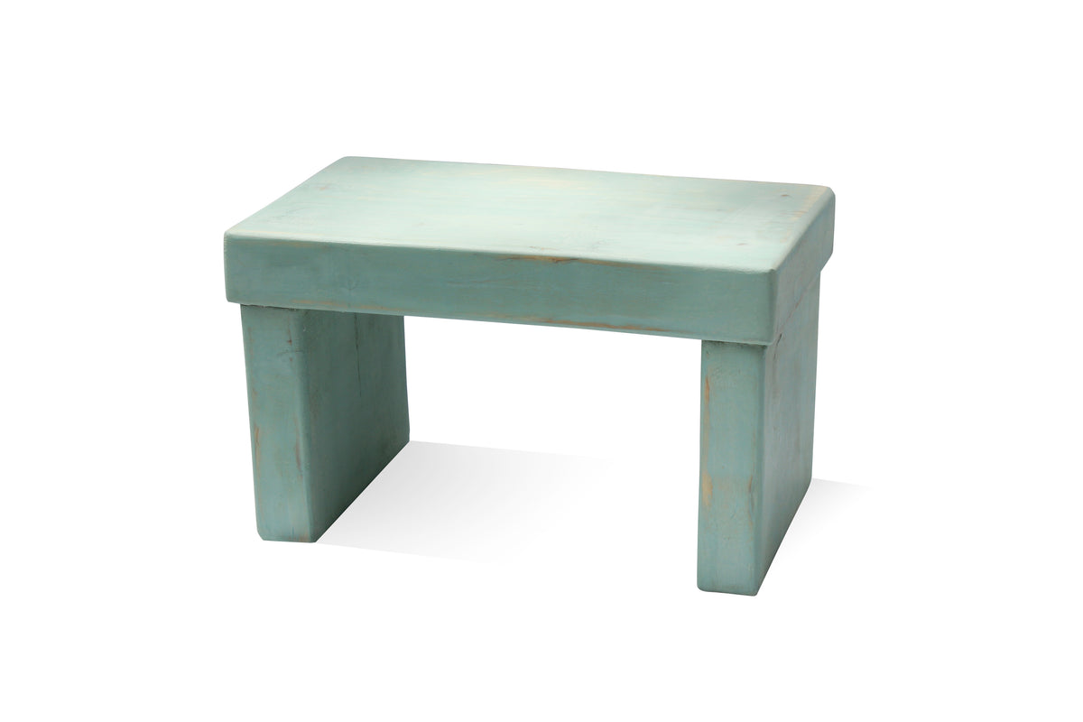 Laurentien Kids' Step Stool - Distressed - $10 Donated to a Childhood Cancer Cause
