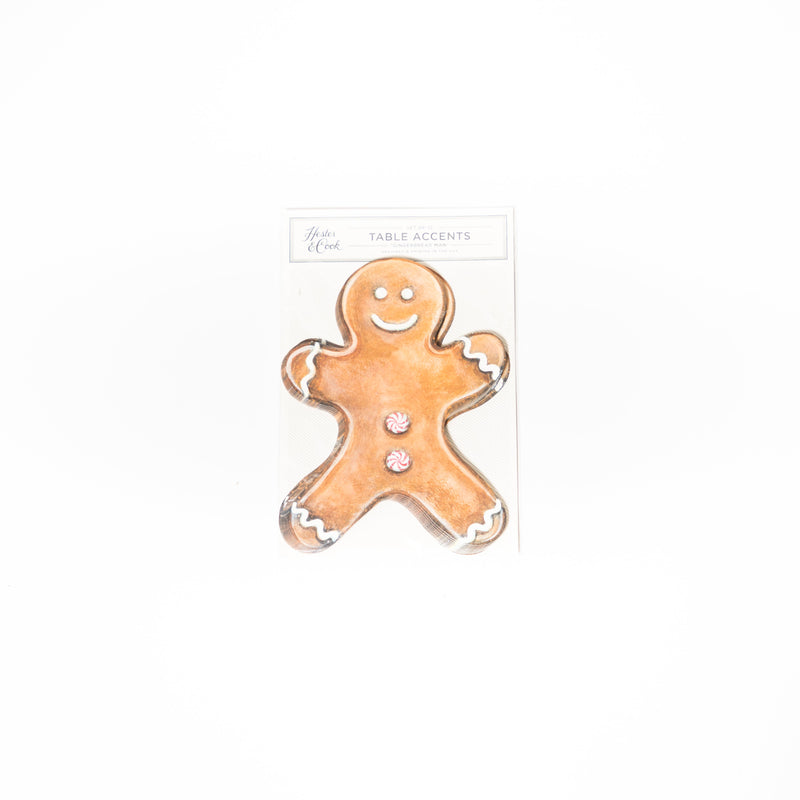 Gingerbread Man Table Accent