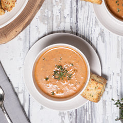 Red House Tomato and Smoked Cheddar Soup