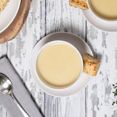 Les Fougeres Cauliflower and Cheese Soup