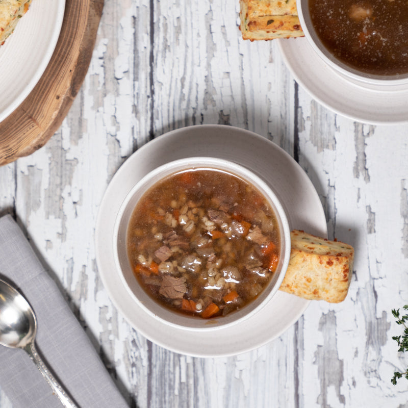 Village Kitchen Beef Barley Soup
