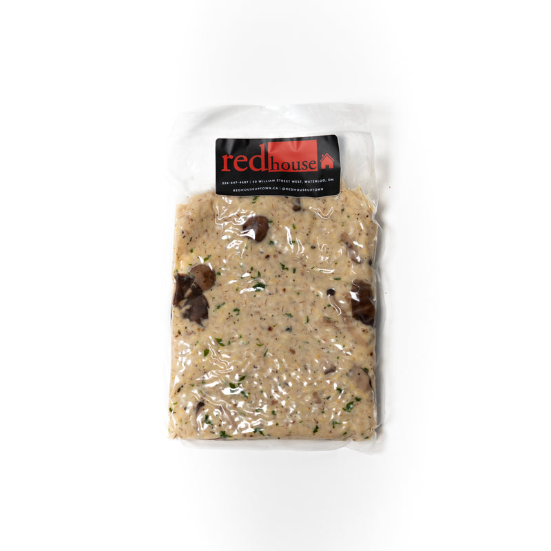 Red House Wild Mushroom + Barley Risotto
