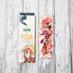 Pizza - Strawberry with Quebec Blue Ermite Cheese Pistachio and Rosemary