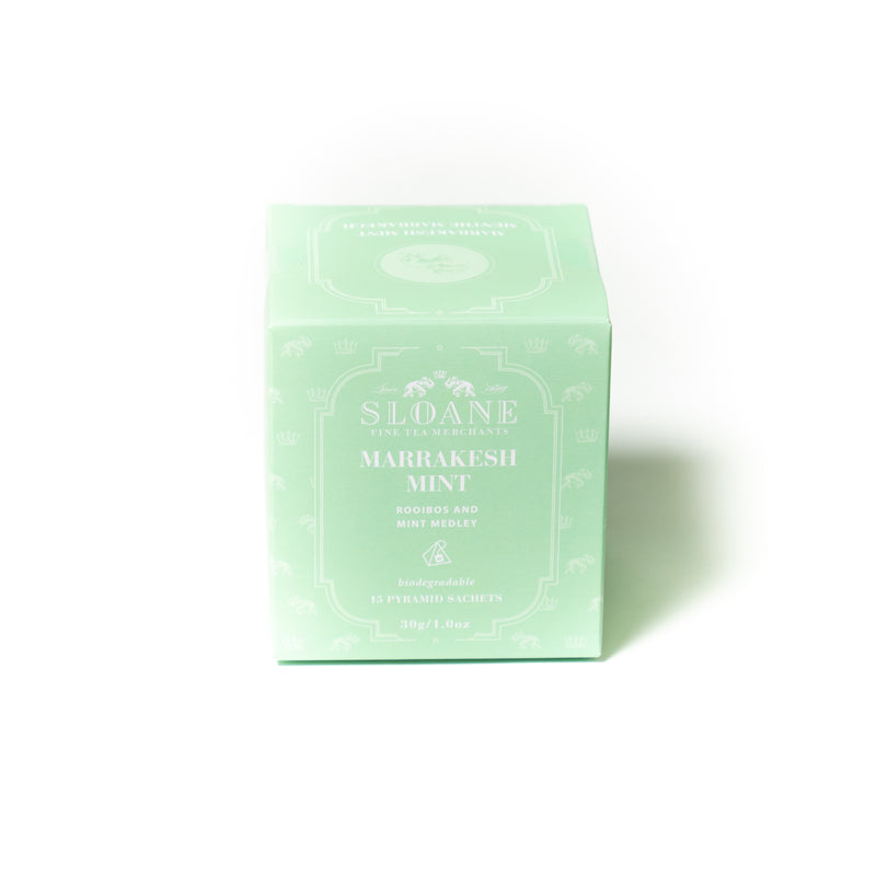 Marrakesh Mint 15ct Tea Sachet Box