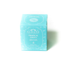 Tropical Green 15ct Tea Sachet Box