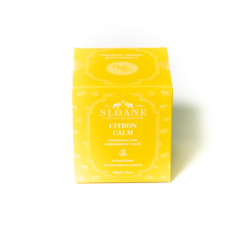 Citron Calm 15ct Tea Sachet Box