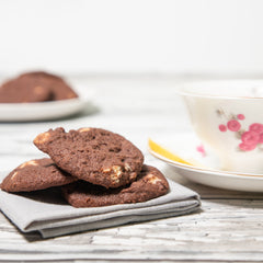 Reverse Chocolate Chunk Cookies