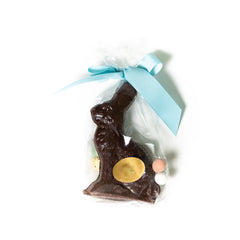 Dark Chocolate Bunny With Eggs