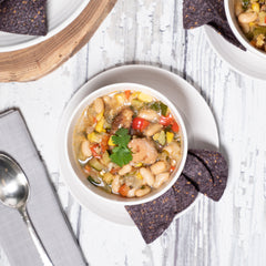 Chicken + Sweet Corn White Chili