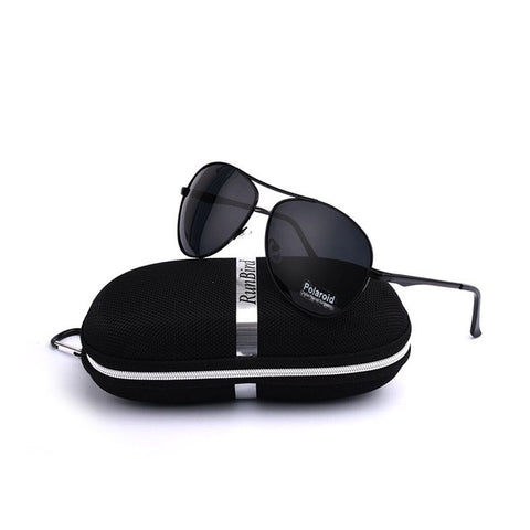 2017 Fashion Men's Polarized Sunglasses Driving Sun Glasses for Men UV400 Travel Driving Male Oculos Gafas De Sol with Case Box - Online Shopping stockyoo