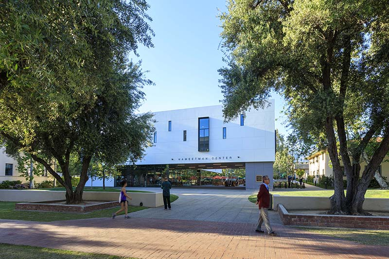 Caltech Hameetman Student Center by GGA Architects