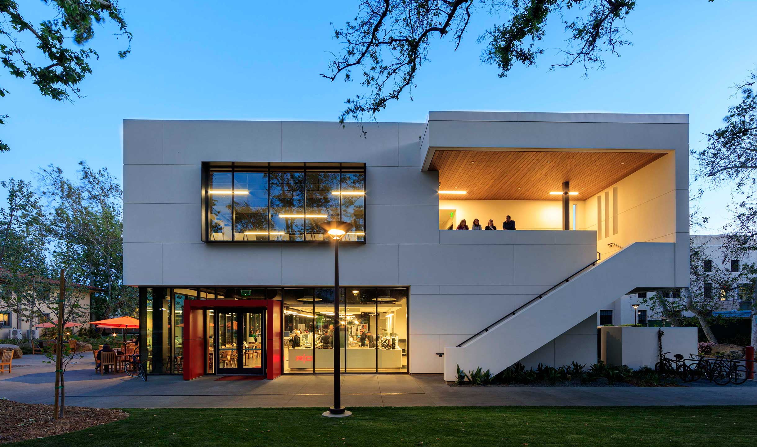 Hameetman Student Center designed by GGA Architects