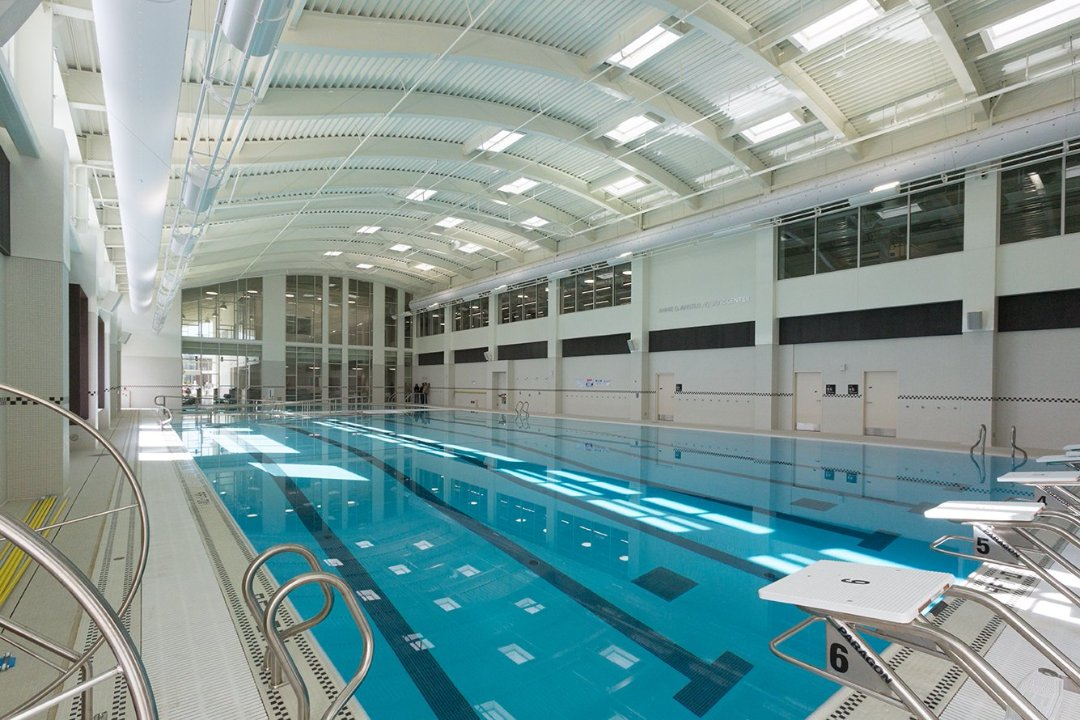 YMCA Pool designed by GGA Architects