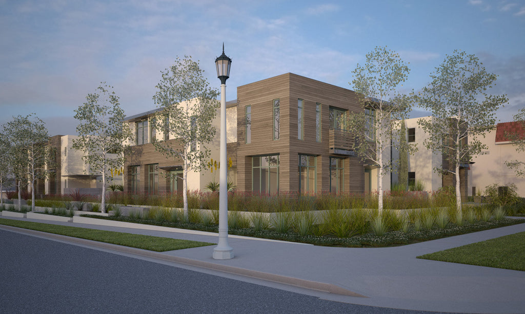 Gonzalez Goodale Architects ALTADENA & MOHAWK TOWNHOMES MULTI-FAMILY HOUSING