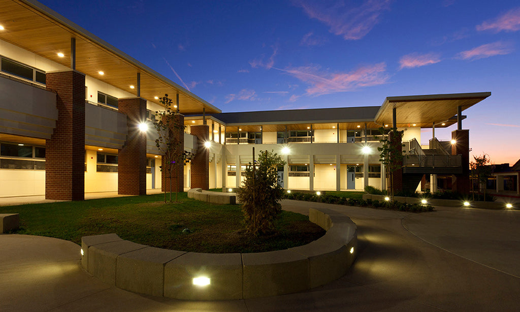 ARROYO HIGH SCHOOL designed by Gonzalez Goodale Architects