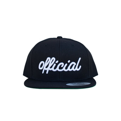 Official (Cursive) Snap Back Hat