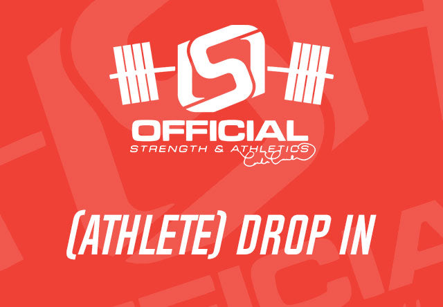 - Official Strength Athlete Session