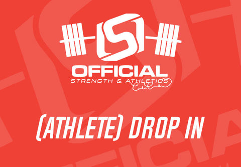 Drop in - Official Strength Athlete Session