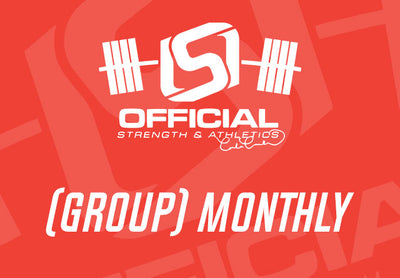 (GROUP) Monthly - Official Strength Group Sessions