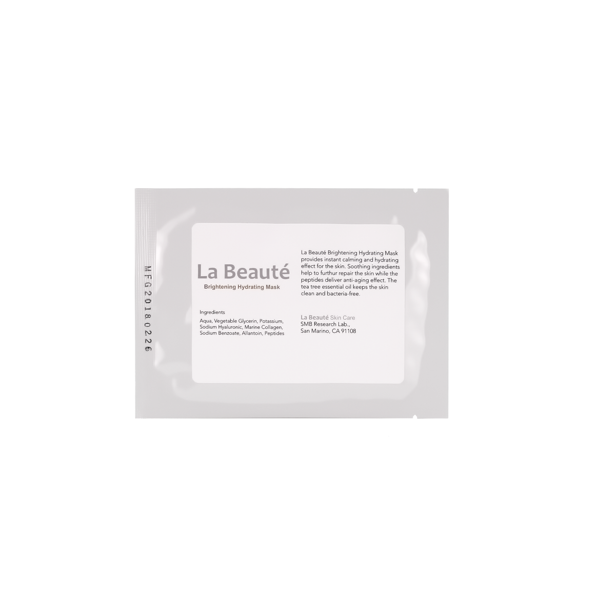 La Beaute - Brightening Hydrating Mask ( 1 sheet )