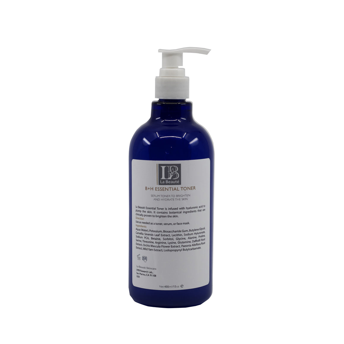 La Beaute - B+H Essential Toner 500ml WS
