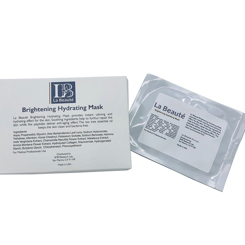 La Beaute - Brightening Hydrating Mask (7 pieces)