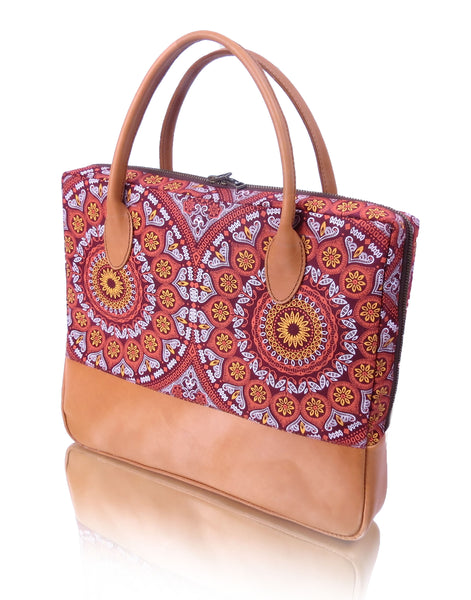 Shweshwe laptop bag