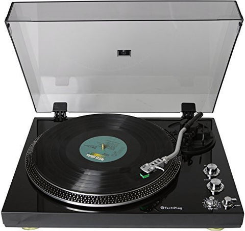 Analog Turntable with Built-in High Quality Phono Pre-amplifier TCP4530