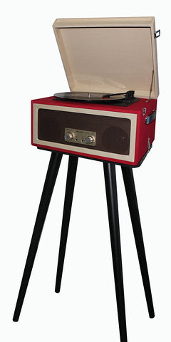 3 Speed Portable Turntable With Matching Stand CTA99