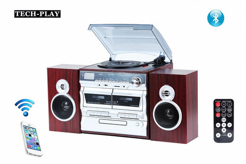Programmable High power 3-Speed Turntable with Remote Control ODC110WD