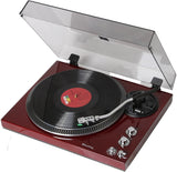Analog 2 Speed Turntable with Built-in Phono Pre-amplifier TCP4530