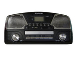 New and improved programmable 3 Spead turntable MP3 CD player ODC35 Black