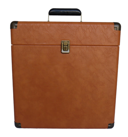 Classic Durable Retro Record Carrying Case for Albums IEP40 (tan)
