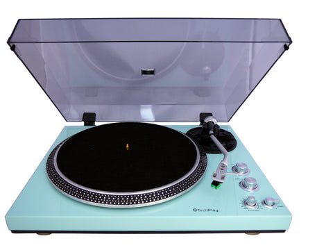 Analog Turntable with Built-in Phono Pre-amplifier TCP4530 Turquoise