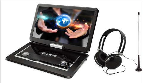 "15.6"" portable DVD player with built-in TV tuner"