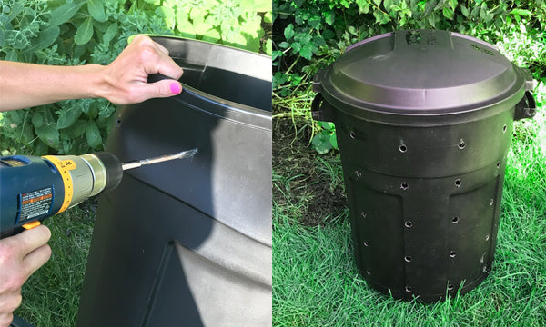 Diy Compost Bin Iron Earth Canada