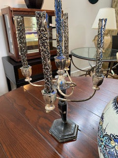 Pair of PEWTER Candleabras