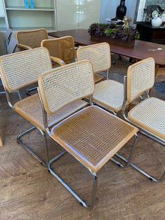 6 Breuer Chairs (as is)